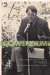 Compendium: A Collection of Thoughts on Prosody|Donald Justice